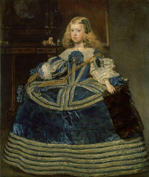 Infanta Margarita Teresa (1651-1673) in a Blue Dress, 1659. Artist: Velàzquez, Diego (1599-1660)