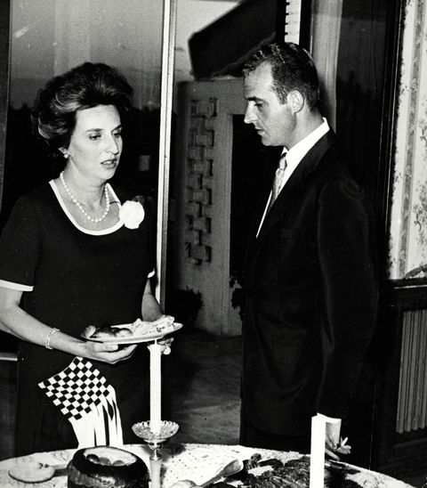La Infanta Pilar y don Juan Carlos I