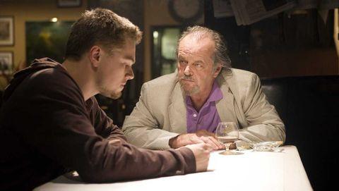 'infiltrados' 2006, con leonardo dicaprio y jack nicholson