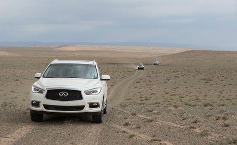 Infiniti Mongolia Gobi Desert