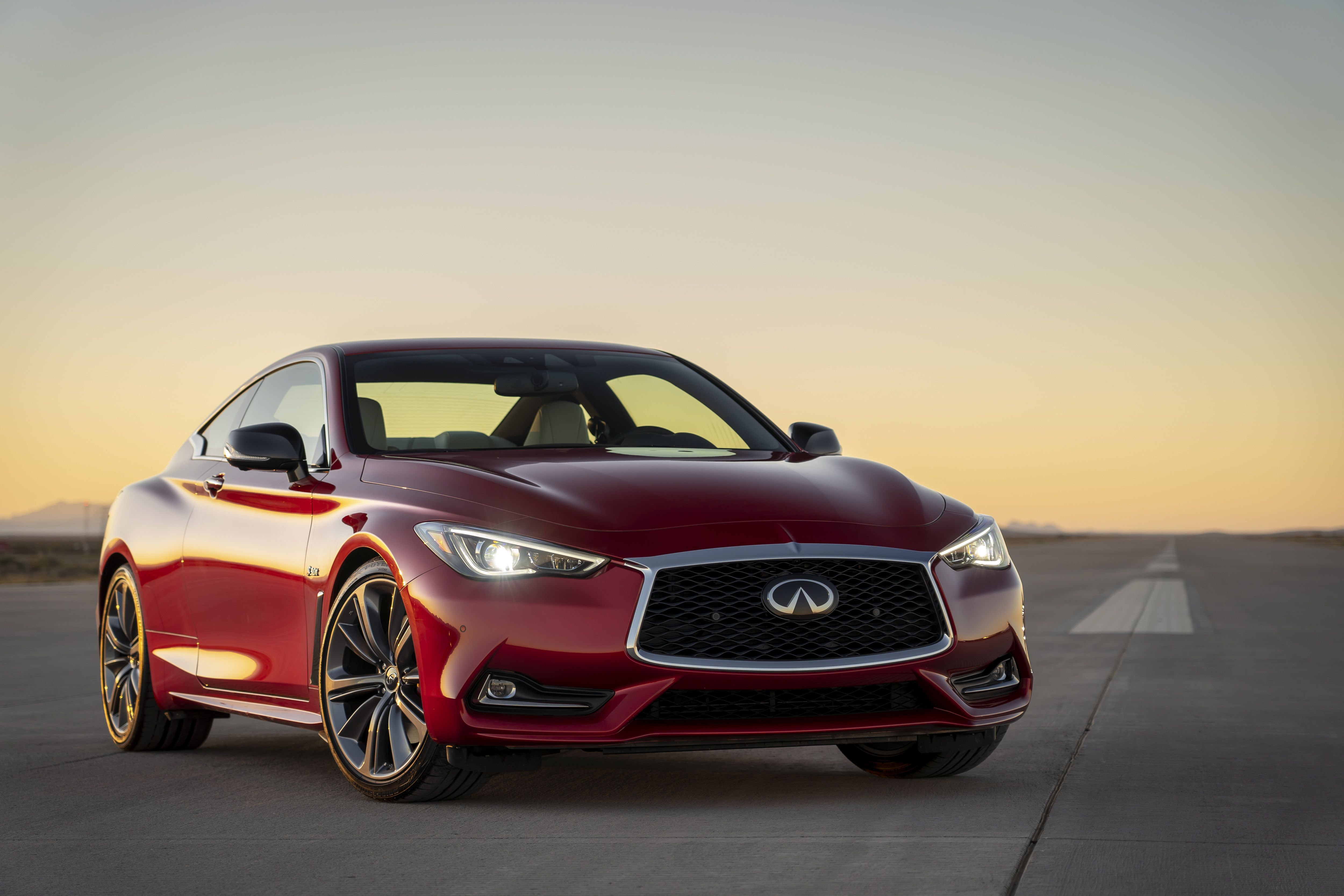 2020 Infiniti Q60 Coupe Speed Test