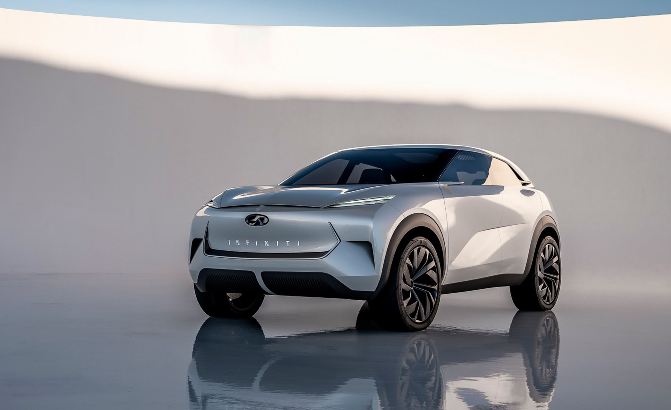 The Infiniti Qx Inspiration Concept Previews A Production Electric Crossover And Ev Platform