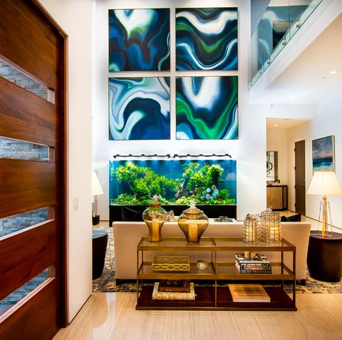 Infinity Aquarium Design Los Angeles