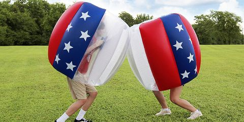 Flag, Inflatable, Games, Flag of the united states, Photography, Recreation, World,