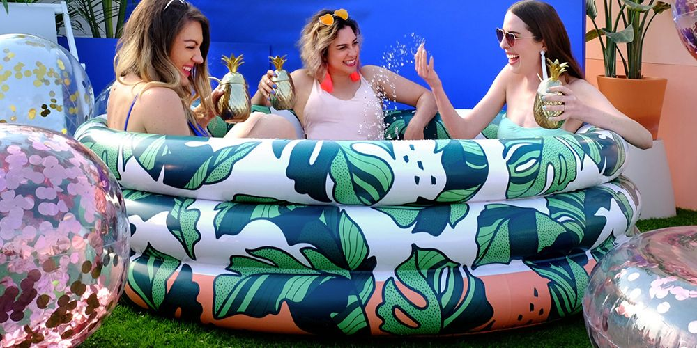 Kick Off Summer Right Now With Target's $40 Inflatable Pools
