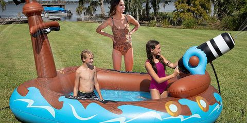 You Can Get an 11-Foot Inflatable Pirate Ship Pool at Sam's Club for $40