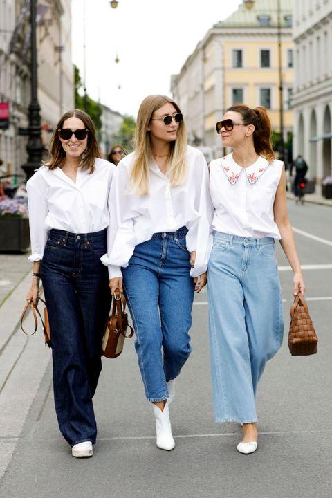 一件「白襯衫」除了職場,還能穿出這5種風格!率性、優雅、性感風,皆能輕鬆駕馭