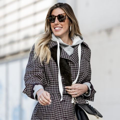 Day 2 - Street Style - Mercedes Benz Fashion Week Madrid - January 2018