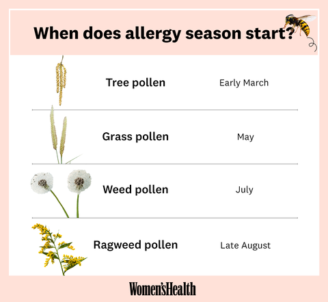 when does allergy season start