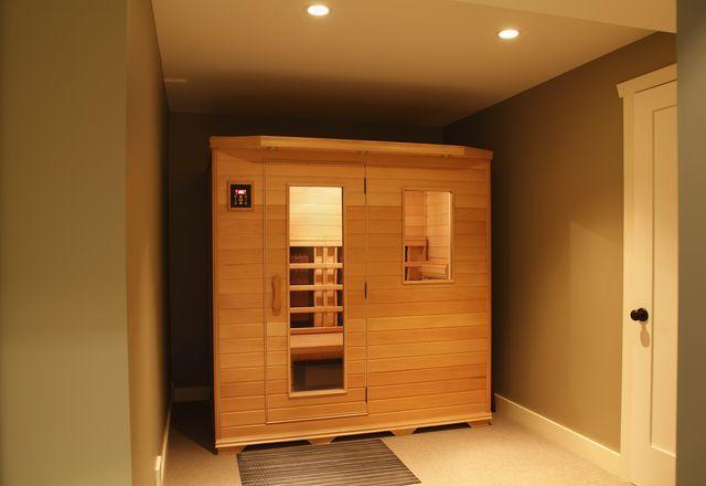 sauna benefits   infra red sauna inside home