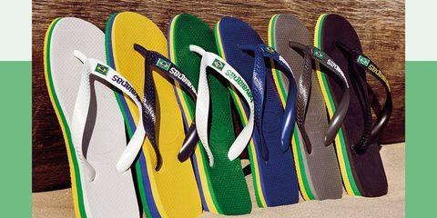Flip-flops, Footwear, Sports equipment, Swimfin,