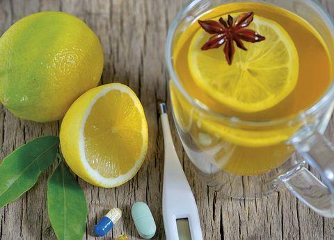 té de limón y miel