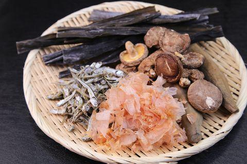 ingredients of dashi