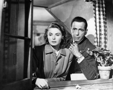 Ingrid Bergman And Humphrey Bogart In 'Casablanca'
