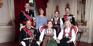 Felipe VI, Ingrid Alexandra de Noruega, Ingrid Alexandra de Noruega confirmación, Ingrid Alexandra de Noruega padrinos