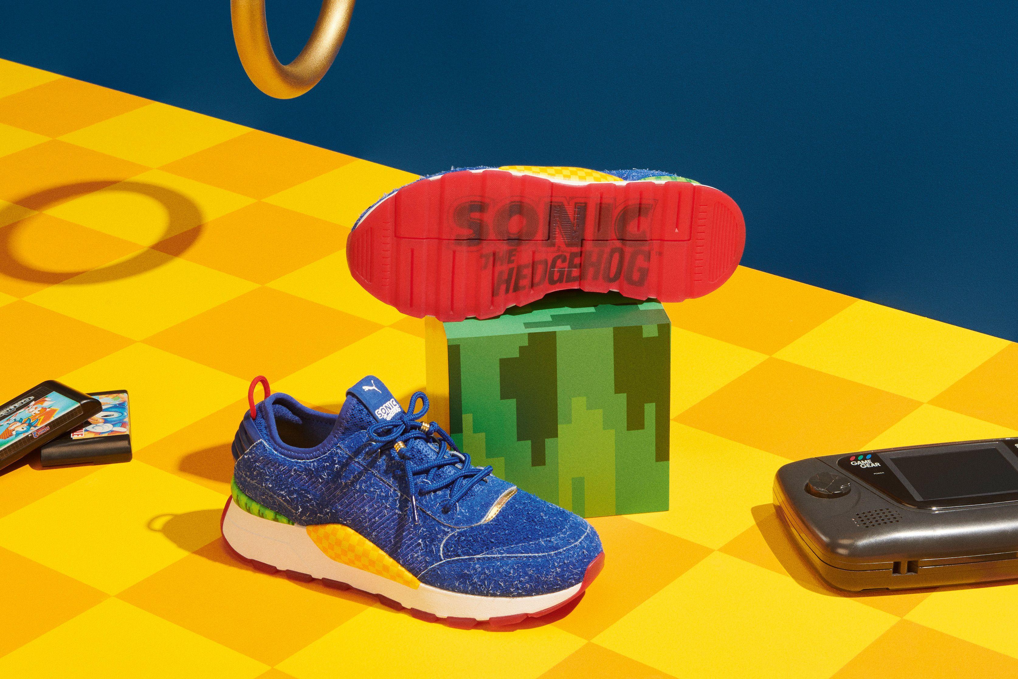 Reebok Zig Sonic Hedgehog Giallo yi0SaF