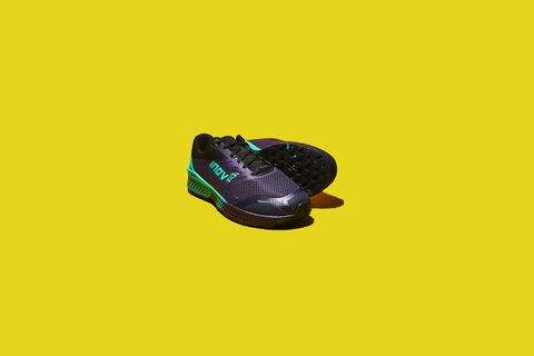 Yellow, Green, Footwear, Violet, Shoe, Font, Athletic shoe, Personal protective equipment, Graphic design, Sportswear,