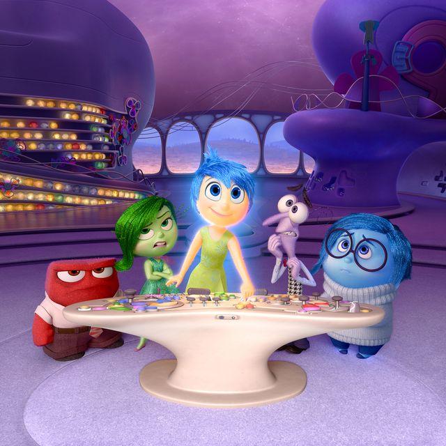 inside out del revés película pixar