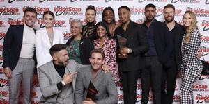 Hollyoaks cast at Inside Soap Awards