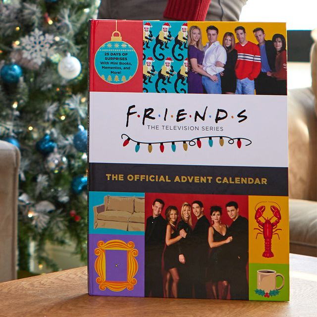 insight editions friends the official advent calendar