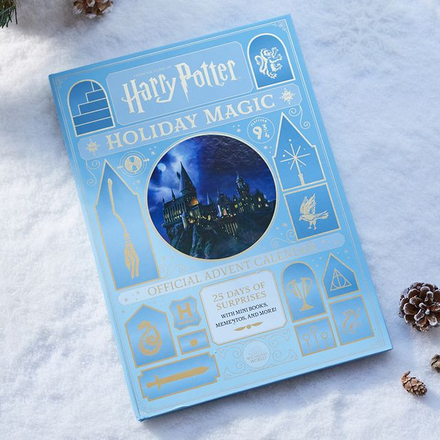 insight editions harry potter holiday magic the official advent calendar