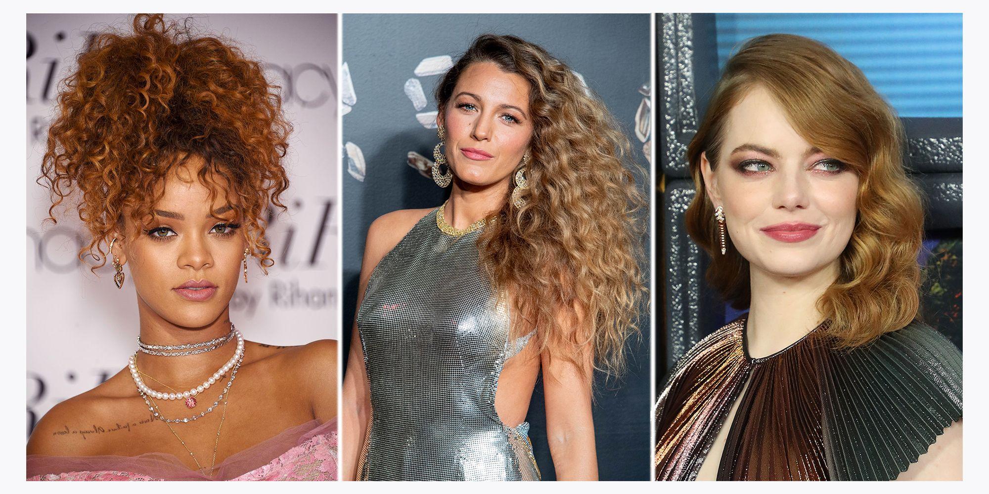 Los Mejores Peinados Para Chicas Con El Pelo Rizado Famosas Con
