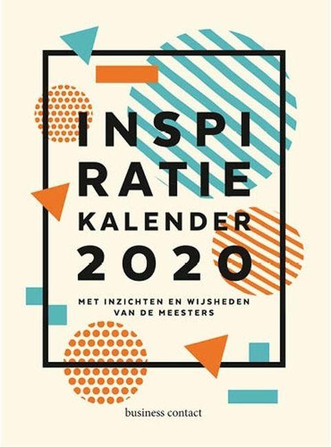 Inspiratie scheurkalender voor 2020