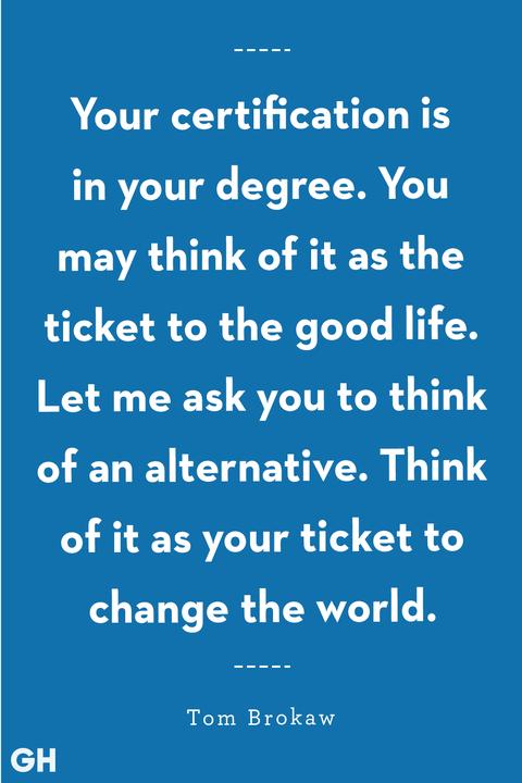 35 Inspirational Graduation Quotes