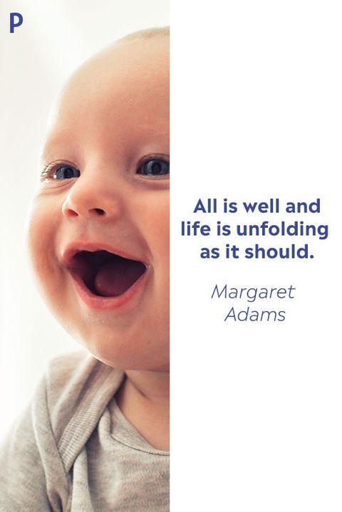 Margaret Adams Inspirational Quote