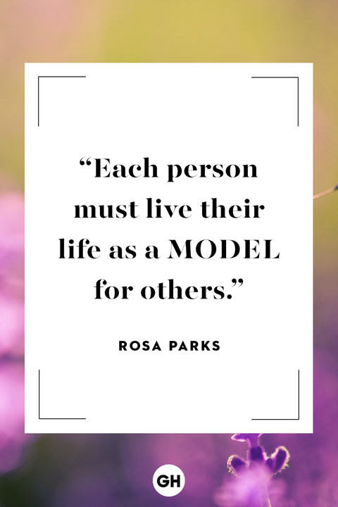 Rosa Parksinspirational quote