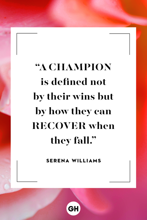 Serena Williams inspirational quote