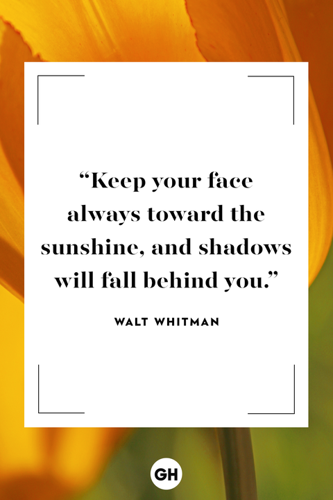 Walt Whitman inspirational quote