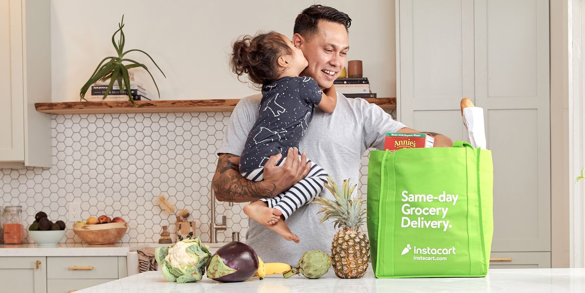 Instacart Just Added Two New Delivery Features That Make It Easier to Get Groceries Right Now