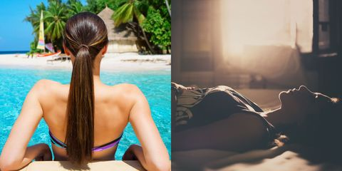 Hair, Hairstyle, Shoulder, Back, Long hair, Summer, Vacation, Black hair, Neck, Photography,