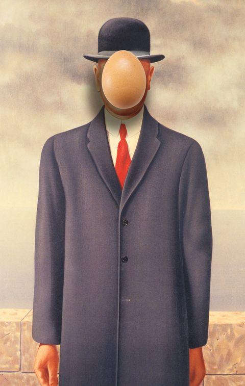 Clothing, Suit, Formal wear, Outerwear, Hat, Headgear, Coat, Bowler hat, Fedora, Overcoat,