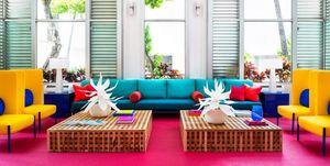 El hotel más colorido (e instagrameable) de Hawái es Shoreline