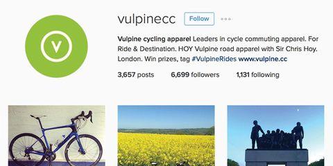 The VulpineCC Instagram feed.