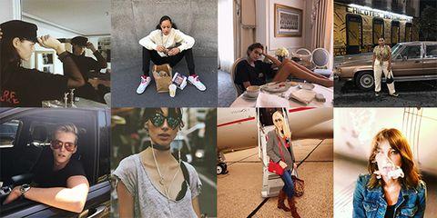 SS18 Models on Instagram