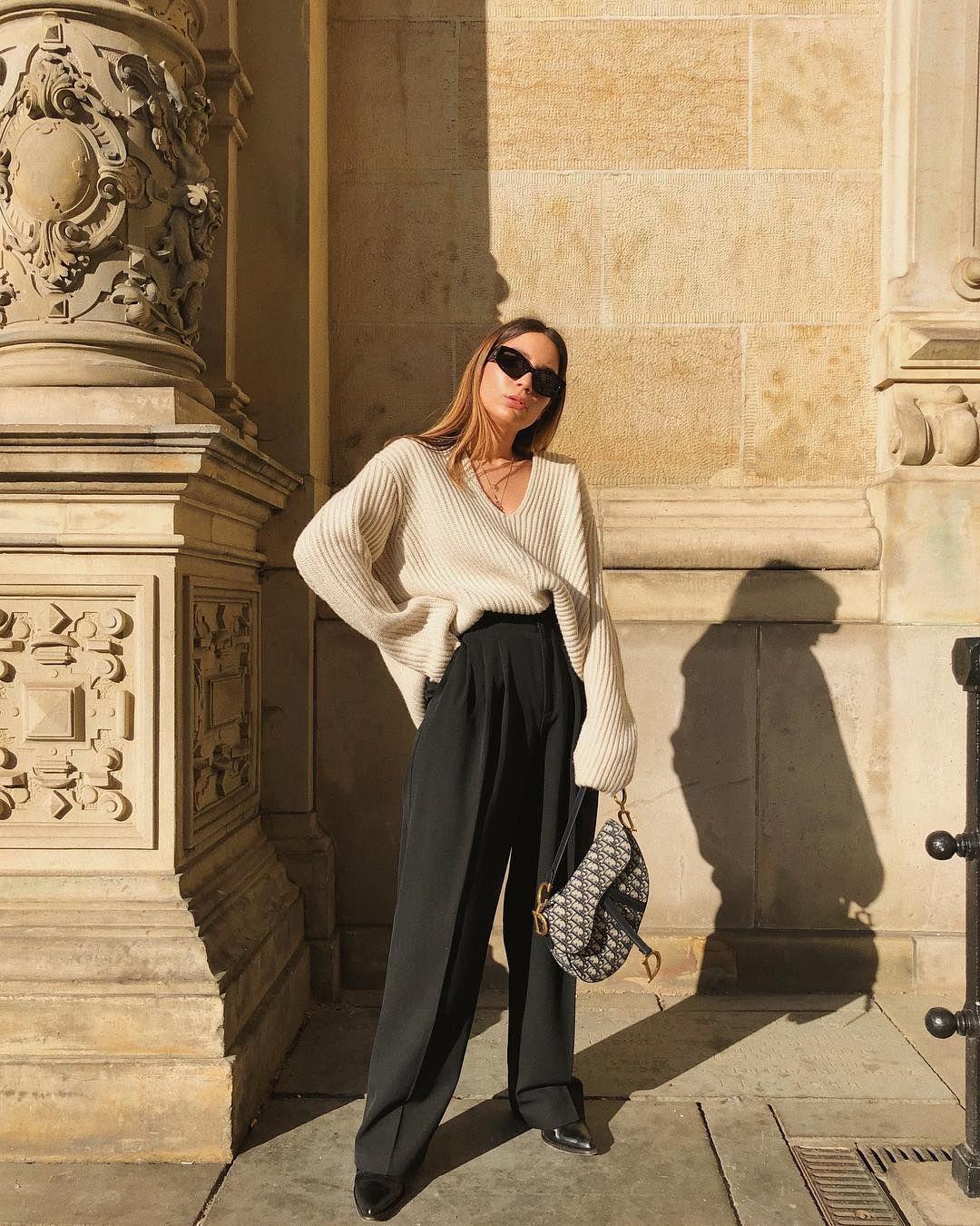 23 Looks Para Combinar Un Pantalon Negro Normal