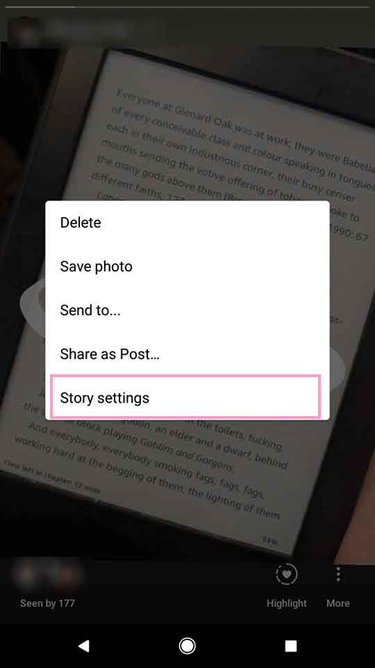 How to hide your instagram story from everyone