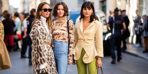 Street Style : Paris Fashion Week Womenswear Spring/Summer 2019 : Day One