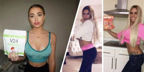 Influencers, Instagram,weight loss products, banned