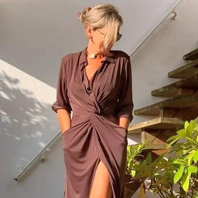 la instagramer española mayor de 55 años y el vestidazo de sfera
