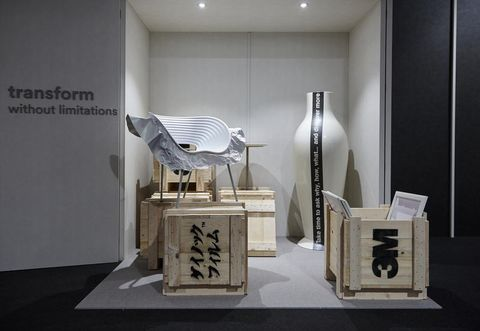 """L'installazione di 3M al FuoriSalone 2018 """"Wonder Beyond Imagination"""" spiegata da Eric Quint, che parla di meraviglia e tecnologia."""