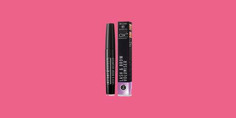 Pink, Cosmetics, Eye liner, Magenta, Mascara, Material property, Lip gloss,