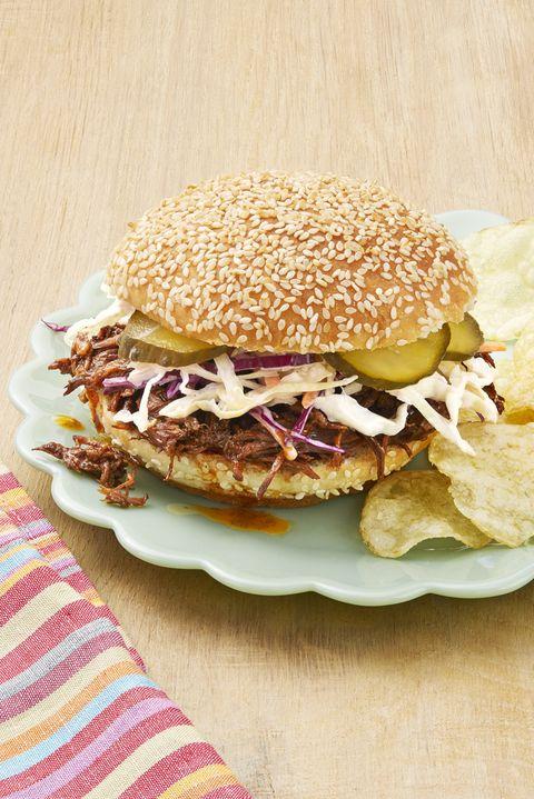 instant pot bbq beef sandwiches
