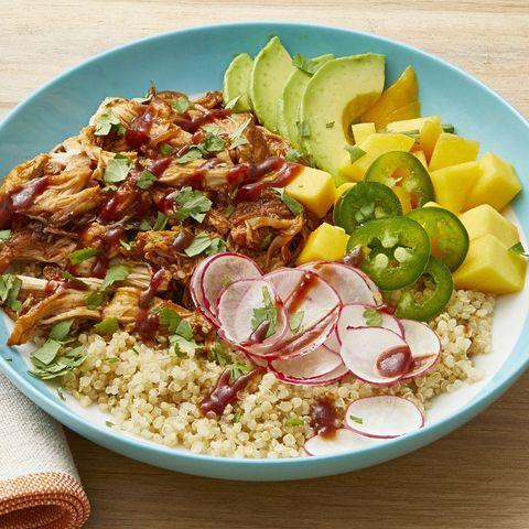 best chicken thigh recipes grain bowl