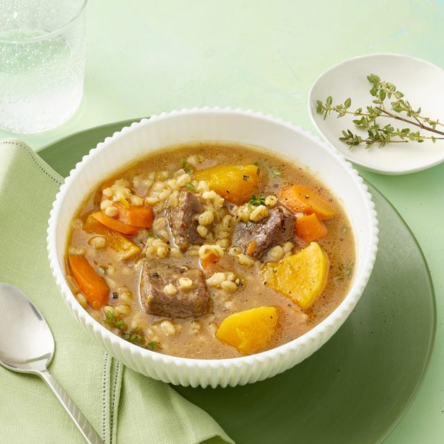 instant pot beef and squash stew