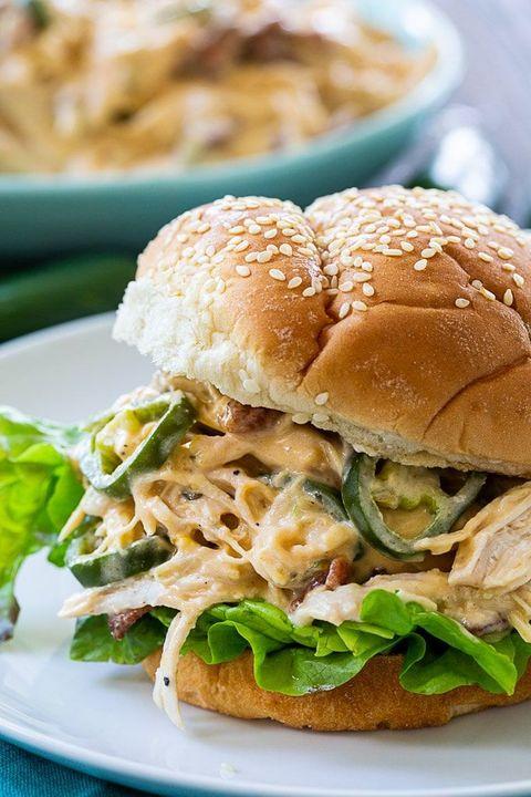 instant pot chicken recipes jalapeno sandwich
