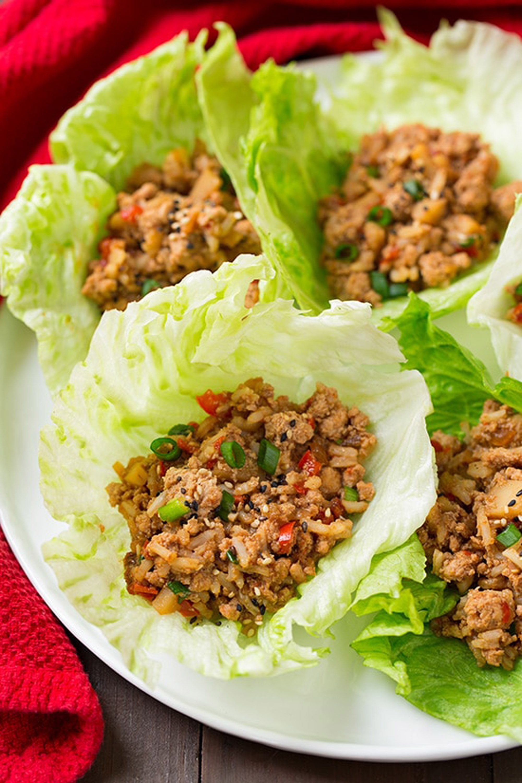 instant pot chicken recipes lettuce wraps